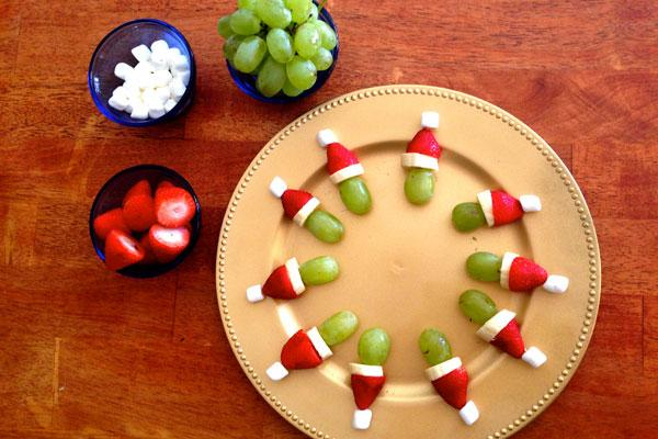 Healthy Christmas Snacks for you and for the kids! - Gym Bunny