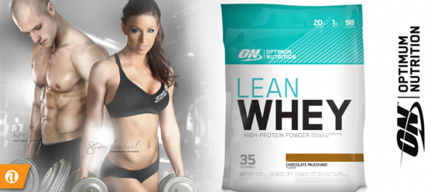 optimum nutrition lean whey chocolate milkshake